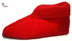 Haflinger , Chaussons pour fille Rouge Rouge 35 - Chaussures haflinger (*Partner-Link)