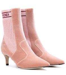 Redirecting you to Mytheresa for Fendi Velvet ankle boots. Velvet Ankle Boots, Leather Ankle Boots, Shoe Wardrobe, Nursing Shoes, Hot Shoes, Women's Shoes, Kinds Of Shoes, Fashion Boots, Leggings Fashion