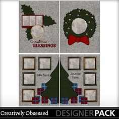 58% OFF! - Ugly Christmas Sweater 3 - 8 page album $2.49 (Normally $5.99) Sale ends Jan 31 - 8.5x11 digital scrapbook album