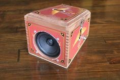 Cigar Box Amp for Cigar Box Guitar Standard Guitar by MonkeyPox