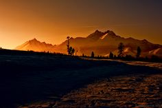 Sunset in mountains by Milan Cernak on 500px