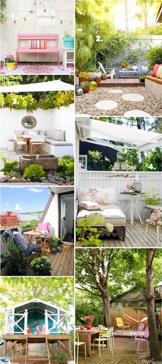 10 tipes to turn your outdoor space into an oasis