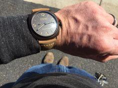 PAM505 Panerai Radiomir, Luxury Watches, Wood Watch, Smart Watch, Accessories, Fancy Watches, Wooden Clock, Wooden Watch, Smartwatch