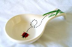 Spoon Rest Designed by Libby Wilkie |