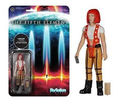 Funko ReAction: The Fifth Element - Leeloo! Retro Kenner format! Figure has 5 points of articulation and features the 1980s style card back design. Check out the other ReAction figures from Funko! Collect them all!
