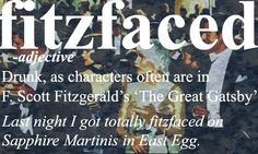 Lol funny ... hope we get a bit tipsy but not fitzfaced at my party!