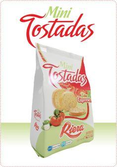 Tenes invitados en casa? Untá tus Mini Tostadas Caprese con un dip a base de queso untable + albahaca + tomates deshidratados + pimienta blanca... riquísimo! Sorprendé a tus amigos! http://www.riera.com.ar/minitostadas
