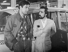 Robert De Niro Poster with Martin Scorsese on set Taxi Driver Premium quality printed on archival double weight paper inches cms) Unique collectible cinematic art Perfect for your home, cinema room, office or dorm! Martin Scorsese, Ryan O'neal, Jimmy Carter, Jodie Foster, Taxi Driver, Masonic Signs, Jill Clayburgh, Cincinnati Kids, Chauffeur De Taxi