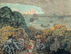Pierre Bonnard / L'Orage à Vernouillet, 1908