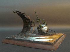 JBA dioramas version of Randall Jarells Death of a Ball Turret Gunner poem as done in 1/35 scale | jbadiorama