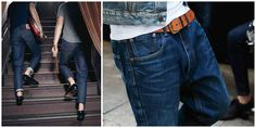 MEN FASHION LEVIS 501 CT JEANS   summer trend inspiration levi campaign ss 15 customized and tapered denim