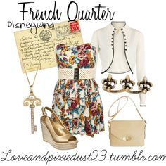 French Quarter, created by loveandpixiedust on Polyvore
