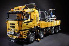 RC 8X8 Technic Truck: A LEGO® creation by shineyu yu : MOCpages.com
