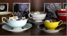 teacups! #frangipanidecor