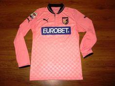Rare Puma Palermo #10 Miccoli Match Worn Shirt Jersey Trikot Maglia Italy Italia