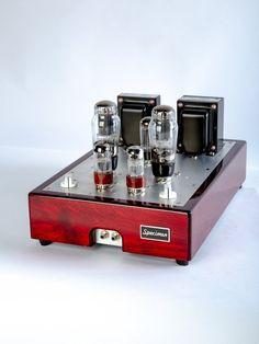 Single-ended Stereo Hi-Fi Tube Amplifier - Hi-Fi Tube Amps, Current Models - Specimen Audio Valve Amplifier, Radio Design, Horn Speakers, Circuit Diagram, Hifi Audio, Vacuum Tube, Audiophile, Models, Tubs