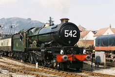 E0012. No. 6042 King Edward I running light at Minehead , 25th March 2012  GWR King Class locomotive 4-6-0, by OG47