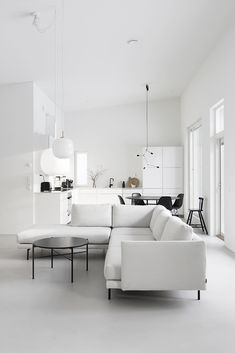 Are you looking for the perfect idea before designing your living room? Well, we have 35 classy white living room ideas for you. Living Room White, White Rooms, Living Room Interior, Home Interior, Home And Living, Living Room Decor, Living Room Ideas 2020, Living Room Designs, Minimalist Interior