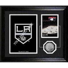 Los Angeles Kings NHL Los Angeles Kings Framed Memories Desktop Photo Mint