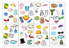 Spot-it card game (clothes) - English ESL Powerpoints for distance learning and physical classrooms Vocabulary Clothes, The End Game, Teaching Jobs, Card Games, Classroom, Kids Rugs, Learning, Cards, Blog