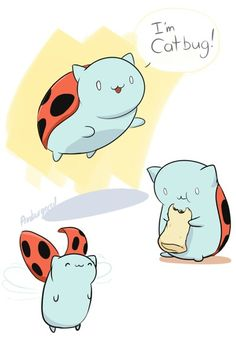 Catbug & Adventure Time?? Too cute!