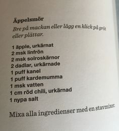 Äppelsmör