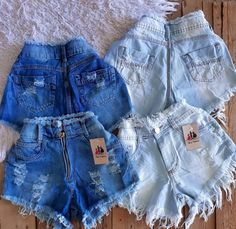 Cute Lazy Outfits, Teenage Girl Outfits, Cute Swag Outfits, Stylish Outfits, Cute Ripped Jeans Outfit, Mode Rockabilly, Look Con Short, Outing Outfit, Adidas Outfit