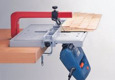 Jigsaw Table -  Blade Guide - Straight cut angle miter - Woodworker - ww...