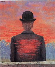 The poet recompensed - (Rene Magritte)
