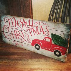 Check out this item in my Etsy shop https://www.etsy.com/listing/257110747/merry-christmas-pallet-sign
