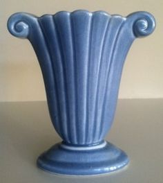 Antique Pottery, Roseville Pottery, Mccoy Pottery, Pottery Plates, Pottery Vase, Ceramic Pottery, Red Wing Pottery, Vintage Planters, Art Deco Furniture