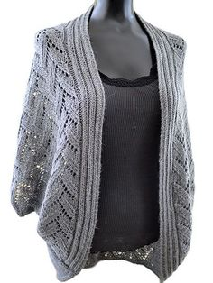 """Knit a luxurious cardigan.   This sophisticated and elegant cardigan will keep you warm and stylish all winter long! The name Calida is of Greek and Spanish origin meaning """"most beautiful,"""" which perfectly describes this finished project. Knit with 825-1,200 yds of sport-weight yarn at a gauge of 18 sts and 26 rows per 4"""" using U.S. size 8/5mm needles."""