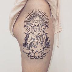 Tattoos Bein, Back Tattoos, Leg Tattoos, Body Art Tattoos, Sleeve Tattoos, Tattoo Forearm, Tattoo Hip, Tattoo Girls, Girl Tattoos