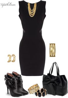 """Sexy Little Black Dress"" by tufootballmom on Polyvore"