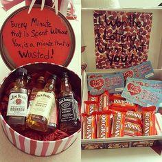 DIY Mini Jack Daniel's Gift Box or Candy Box