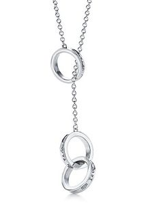 Tiffany Outlet 1837 Interlocking Circles Lariat Necklace