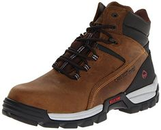 quality design 097d1 d8faa Wolverine Men s Tarmac Waterproof Reflective Composite-Toe EH Work Boot  Cinnamon   EW and Work Sock Bundle. Bundle includes 1 set of work socks. Shoe  Talk