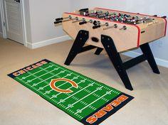 """MY TEAM MATS - NFL - Chicago Bears Football Field Runner 30""""x72"""", $47.99 (http://www.myteammats.com/nfl-chicago-bears-football-field-runner-30x72/)"""