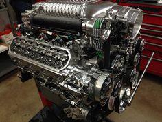 GM LS Crate 427ci supercharged engine 1000HP #borouski