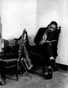 Eric Dolphy- Inducted in 1964 Readers poll
