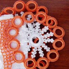 turuncu-çok-halkalı-havlu-kenarı