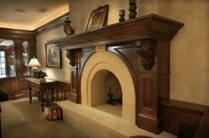 Love the elegant simplicity of this mantle