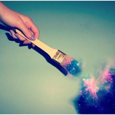 Paint the galaxy