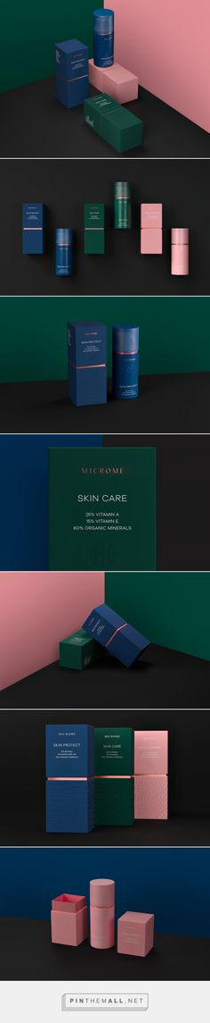 Microme Cosmetics is Makeup With Provenance — The Dieline - Branding & Packaging Design - created via https://pinthemall.net