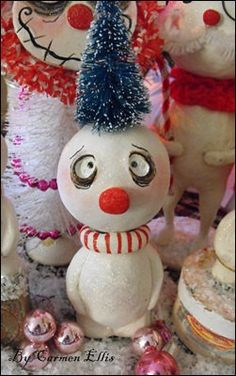 Hey, I found this really awesome Etsy listing at https://www.etsy.com/listing/113738672/christmas-grimmy-snowman