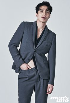 Lee Dong Wook for Men's Uno Hong Kong January Photographed by Kim Yeong Jun