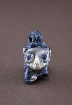 Origins of #Glassmaking: #Pendant with Head of Man, 600-250 BC | Corning Museum of #Glass