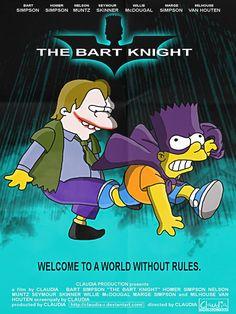 Batman The Dark Knight #simpsons