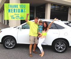 Congratulations to The Crafts for earning their Lexus bonus from #Nerium!