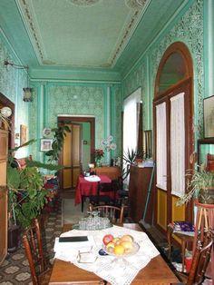Interior in Vojvodina, Serbia